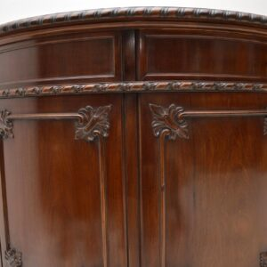 Pair of Antique Chippendale Style Mahogany Cabinets