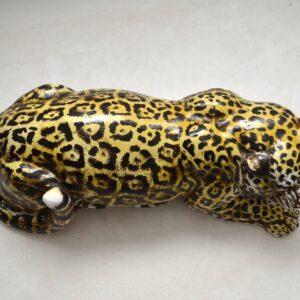 Mid-20th Century Ceramic Jaguar