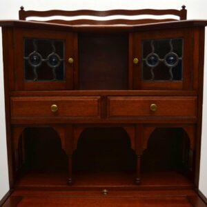 Antique Mahogany Arts & Crafts Writing Bureau - Liberty