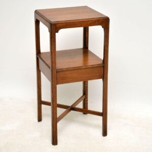 Antique Two Tier Table Stand