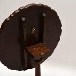 Antique Burr Walnut Snap Top Table