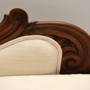 Antique William IV Rosewood Chaise Lounge