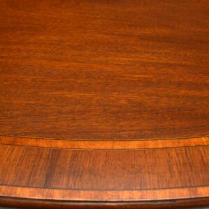 Antique Inlaid Mahogany Tillman Dining Table