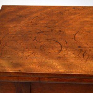 Antique Early Victorian Mahogany Tea Table