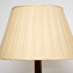 Antique Mahogany Standard Lamp
