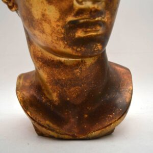 Antique Classical Gilt Bust of Alexander the Great