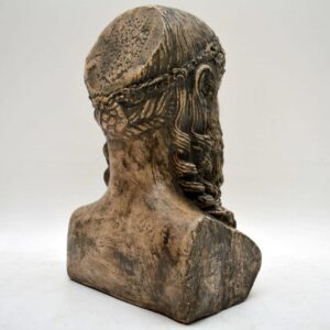 Large Antique Classical Bust