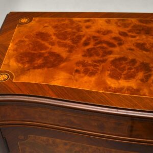 Antique French Inlaid Rosewood & Walnut Drinks Cabinet