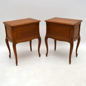 Pair of Antique French Bedside Chests