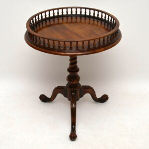 Antique George III Style Mahogany Wine Table