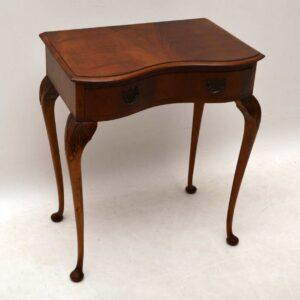 Antique Georgian Style Mahogany Side Table