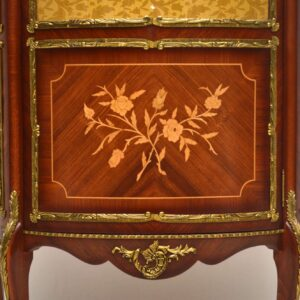Antique French Ormolu Mounted French Display Cabinet
