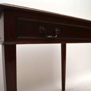 Antique Edwardian Mahogany Writing Table / Desk
