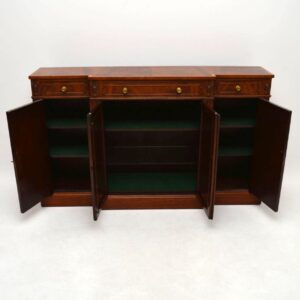 Antique Mahogany Grill Front Sideboard