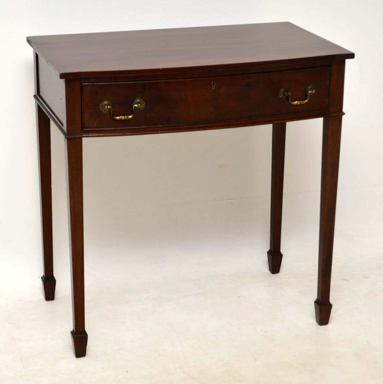 Antique Mahogany Writing Table / Side Table