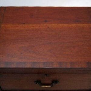 Pair of Antique Georgian Mahogany Bedside Chests