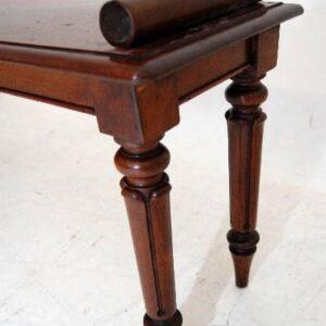 Antique Victorian/William 1V Reconstructed Mahogany Bench