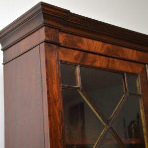 Antique William IV Mahogany Library Bookcase