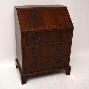 Antique Mahogany Writing Bureau Desk