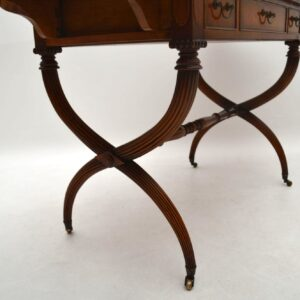 Antique Regency Style Rosewood Sofa Table