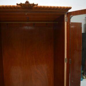 Antique Burr Walnut Wardrobe