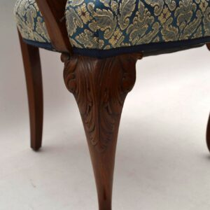 Set of Six Antique Walnut Dining Chairs