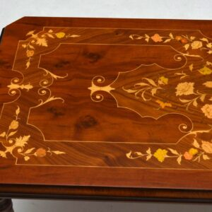 Antique French Style Inlaid Coffee Table