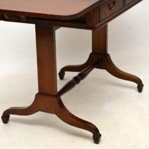 Antique Mahogany Sofa Table