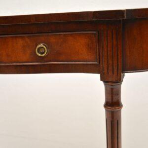 Antique Georgian Style Mahogany Console Table