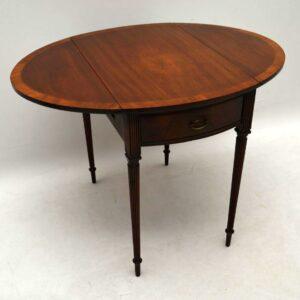 Antique Regency Mahogany Pembroke Drop Leaf Table