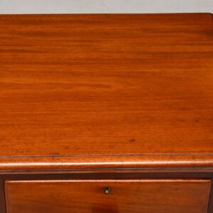 Small Antique Victorian Mahogany Chest of Drawers