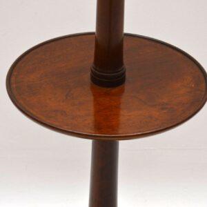 Antique Victorian Mahogany Lamp Stand