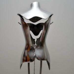 Aluminium & Steel Mannequin designed by Nigel Coates