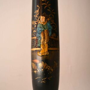 Antique Chinese Style Chinoiserie Lamp Stand