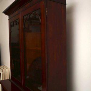 Antique William IV Mahogany Bookcase