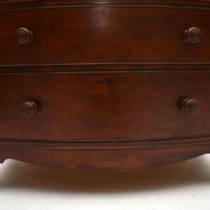 Antique Regency Style Mahogany Chest of Drawers
