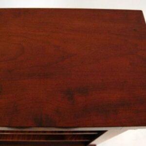 Reconstructed Antique Mahogany Open Bookcase
