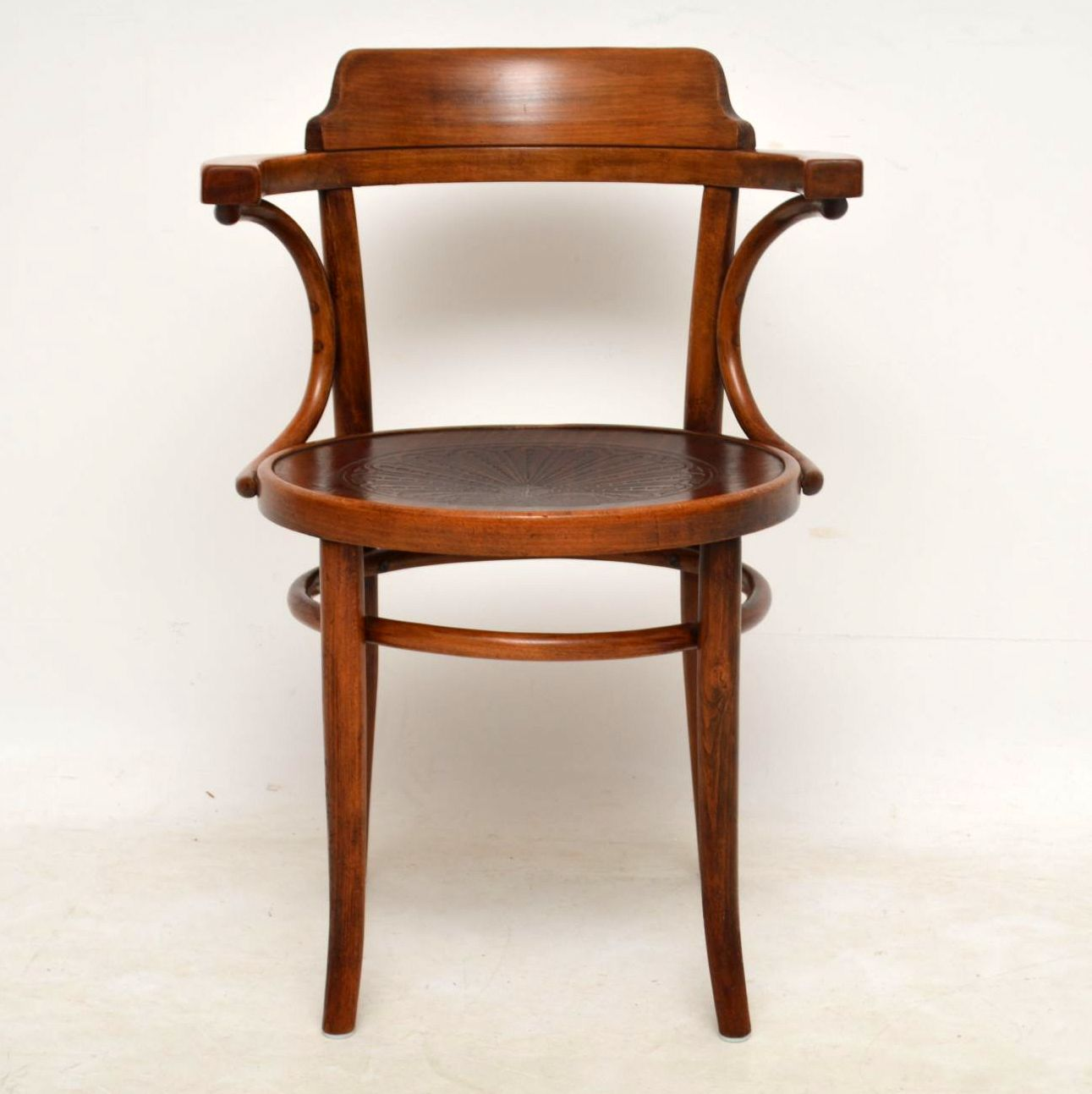 Pair of Antique Bentwood Thonet Armchairs - Marylebone ...