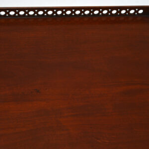 Antique Chinese Chippendale Style Mahogany Coffee Table