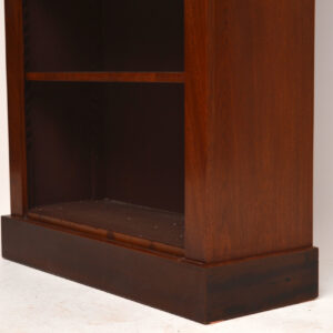 Antique Re-Constructed Victorian Mahogany Open Bookcase