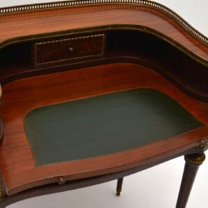 Antique French Mahogany Writing Table Desk