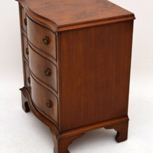 Small Antique Georgian Style Mahogany Chest of Drawers (1930-50s)