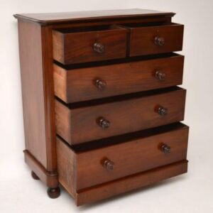 Fine Quality Antique Victorian Mahogany Chest of Drawers