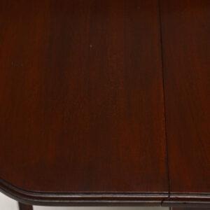 Small Antique Mahogany Edwardian Drop Leaf Sutherland Table