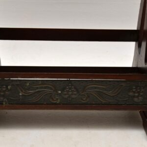 Antique Art Nouveau Open Bookcase