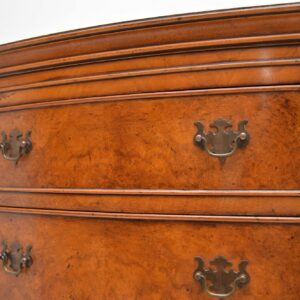 Antique Burr Walnut Chest on Chest