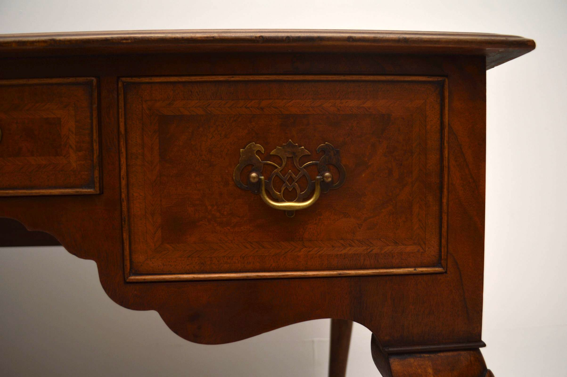 Antique Burr Walnut Desk