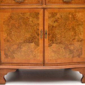 Antique Burr Walnut Drinks Cabinet