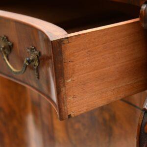 Antique Burr Walnut Sideboard