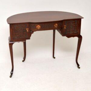 Antique Art Nouveau Mahogany Desk or Dressing Table